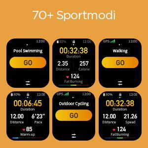 Amazfit GTS 2 mini - Über 70 Sportmodi