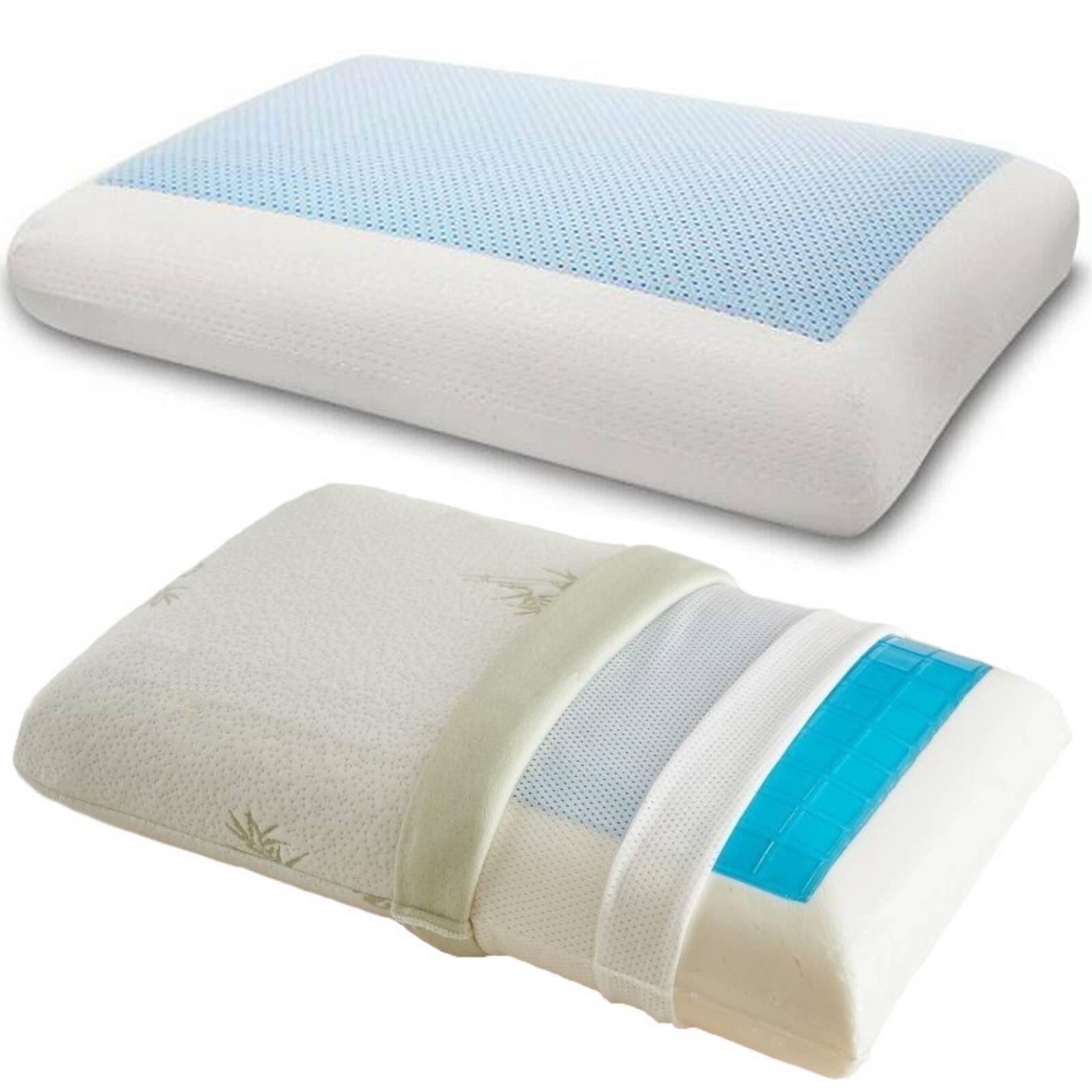 Revêtements de l'oreiller rafraichissant à mémoire de forme
