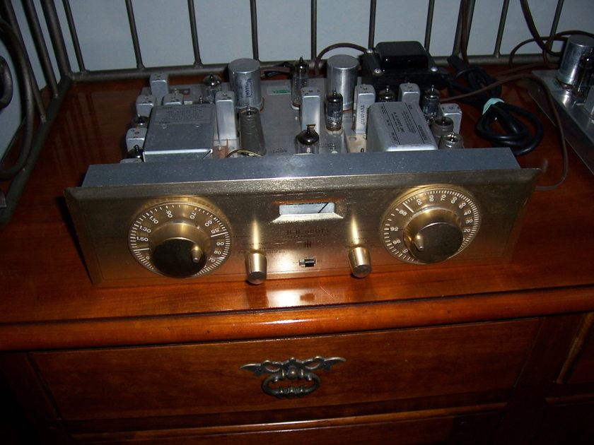 HH Scott Stereomaster 330D AM/FM Tuner and 335 Multiplexer - Awesome Combo