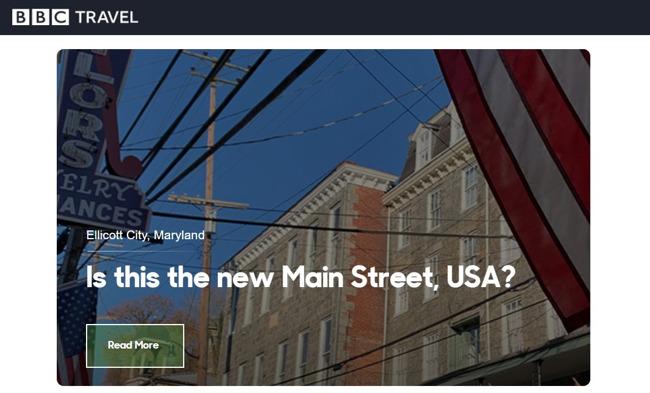 BBC Untold America covers Ellicott City