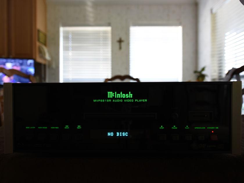 Mcintosh MVP881 BluRay Audio Video Player
