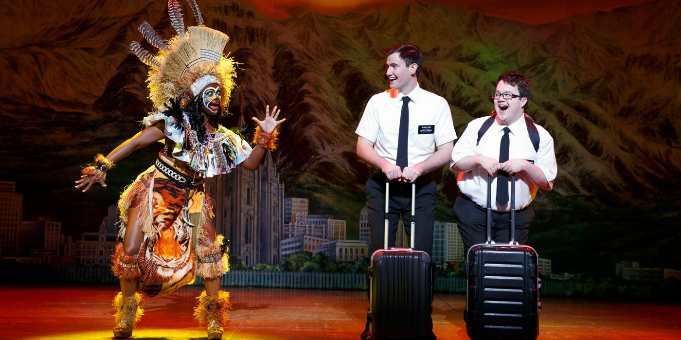 The Book of Mormon at the Shubert Theatre