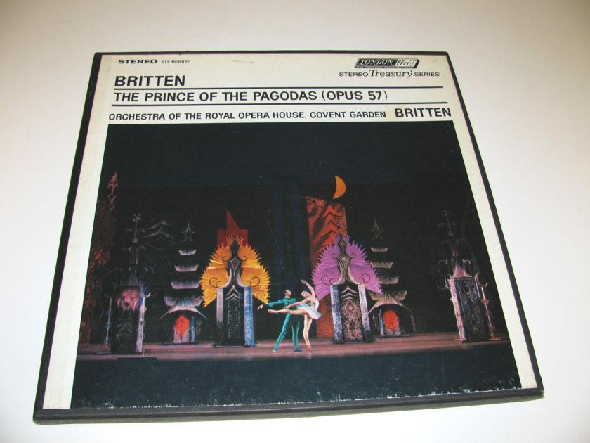 THE PRINCE OF THE PAGODA'S - BENJAMEN BRITTEN LONDON STEREO TREASURY BOX SET