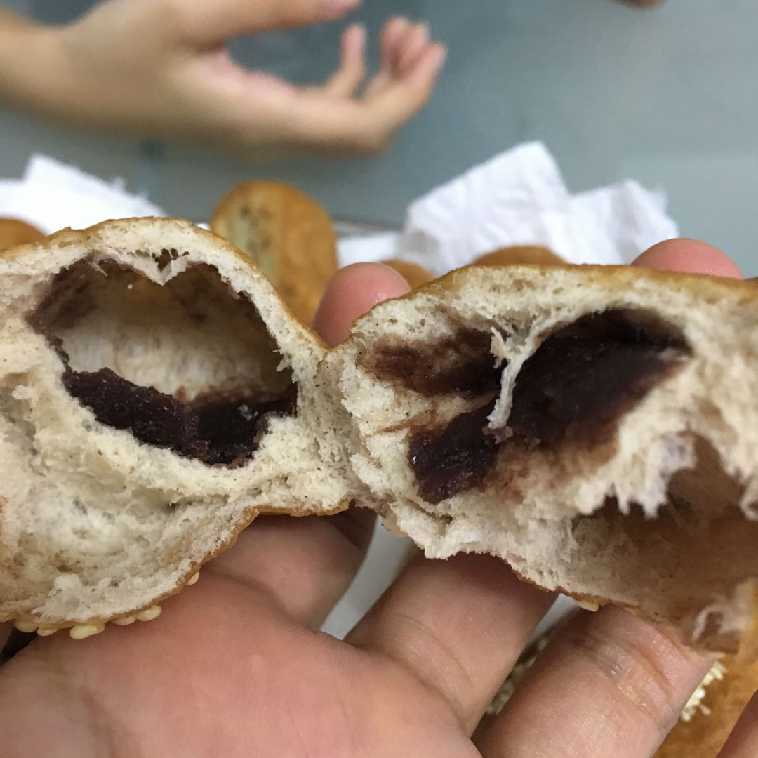 Feb 16th, 20 - Hum Chin Peng with home made red bean paste.