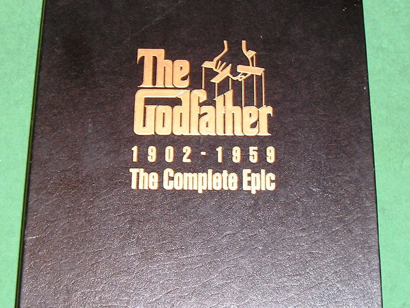 THE GODFATHER SAGA - ** NEVER RELEASED ON DVD/BLU-RAY * RARE & COMPLETE - NM *