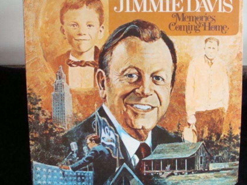 Jimmie Davis - Memories Coming Home Lp Near Mint