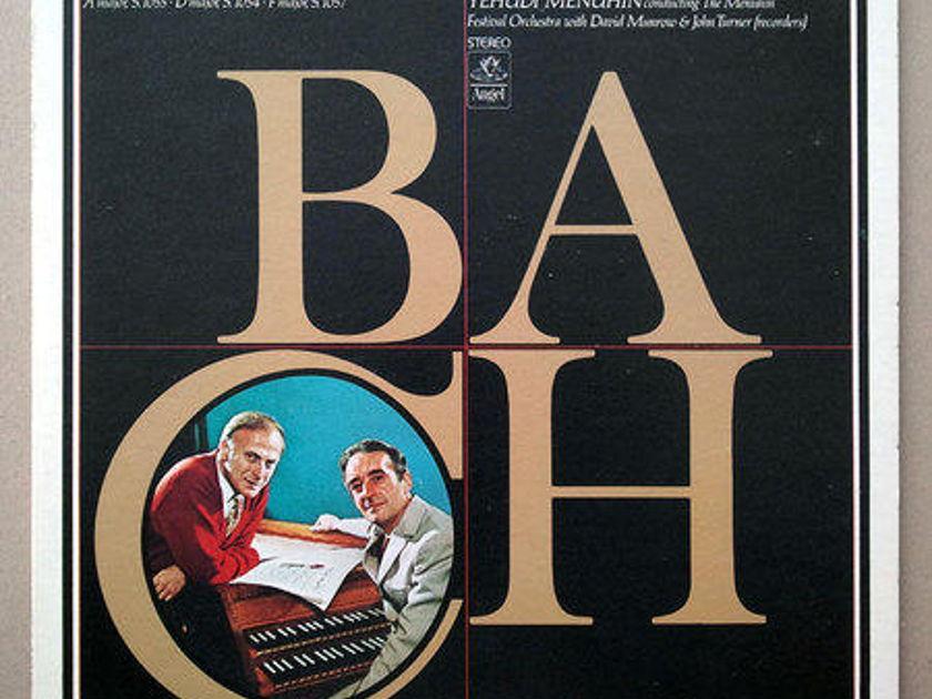 Angel/Malcolm/Menuhin/Bach - Harpsichord Concertos Nos. 3, 4, 6 / NM