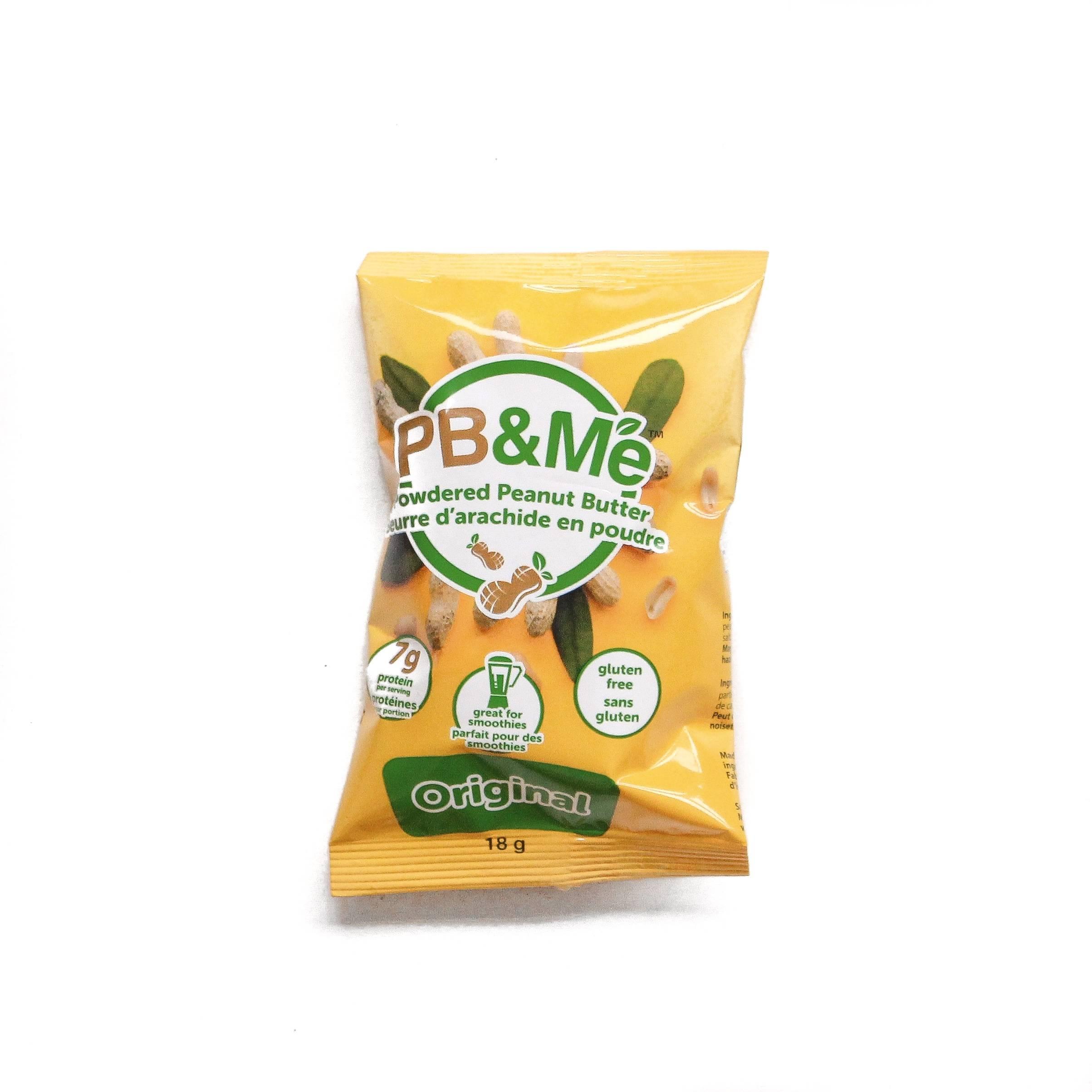 poudre d'arachide PB&Me