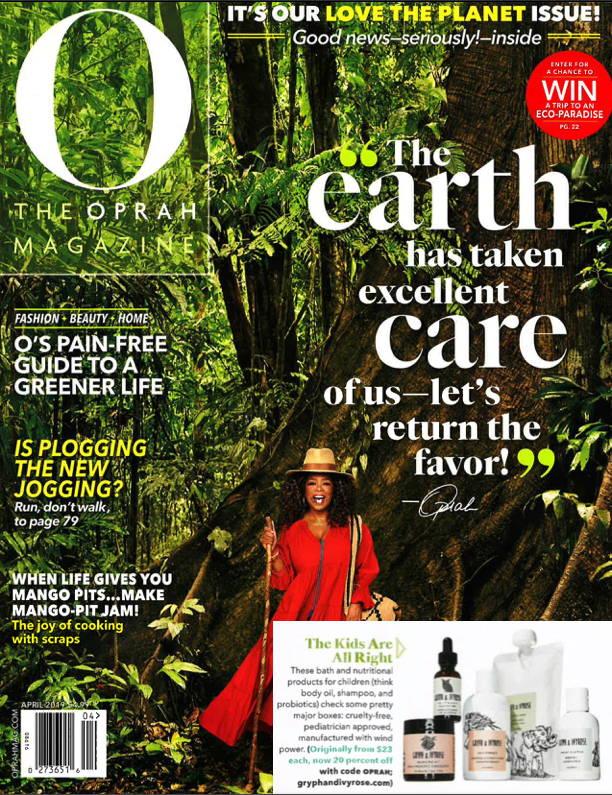 Oprah Magazine O List bath and body