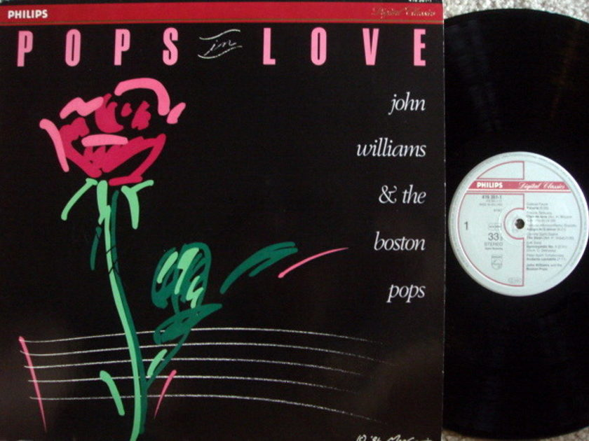 Philips Digital / JOHN WILLIAMS & - Boston Pops Orchestra, NM!