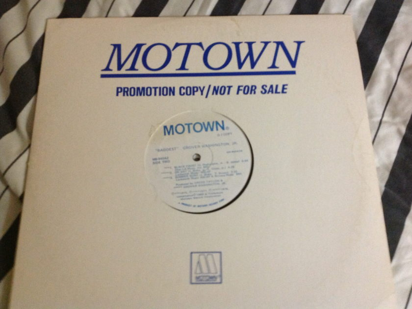 Grover Washington - Baddest 2LP White Label Promo Motown Label