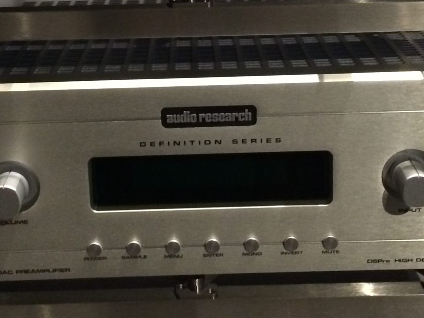 Audio Research DSP Pre  Dac and Preamp c