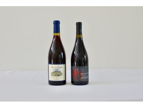 Two Oregon Pinot Noirs