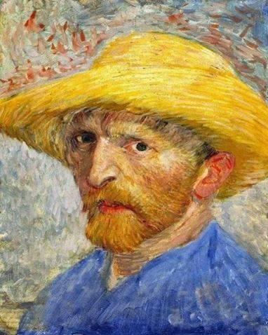 Autoportrait de Van Gogh peinture par numéro