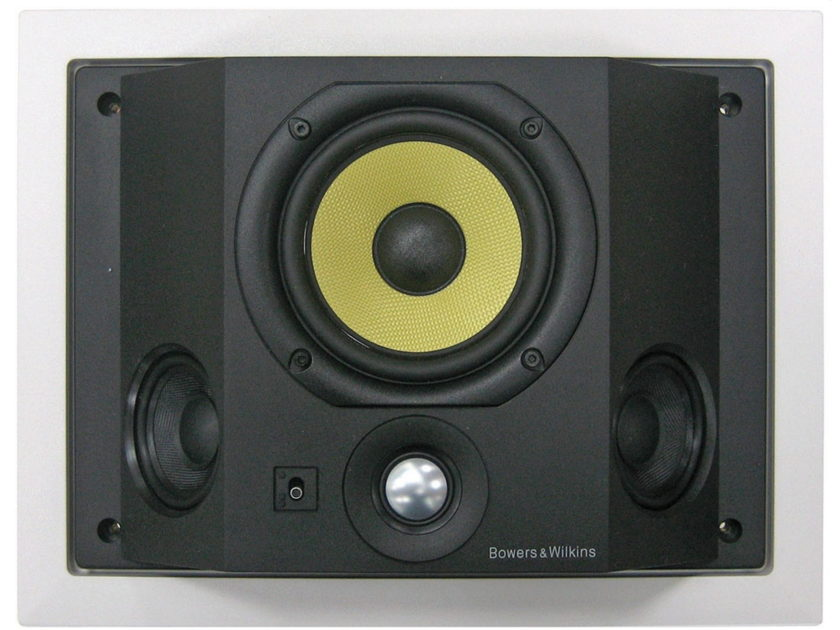 Final  template B&W CDS6 S3 Speakers; Pair; White (NEW)