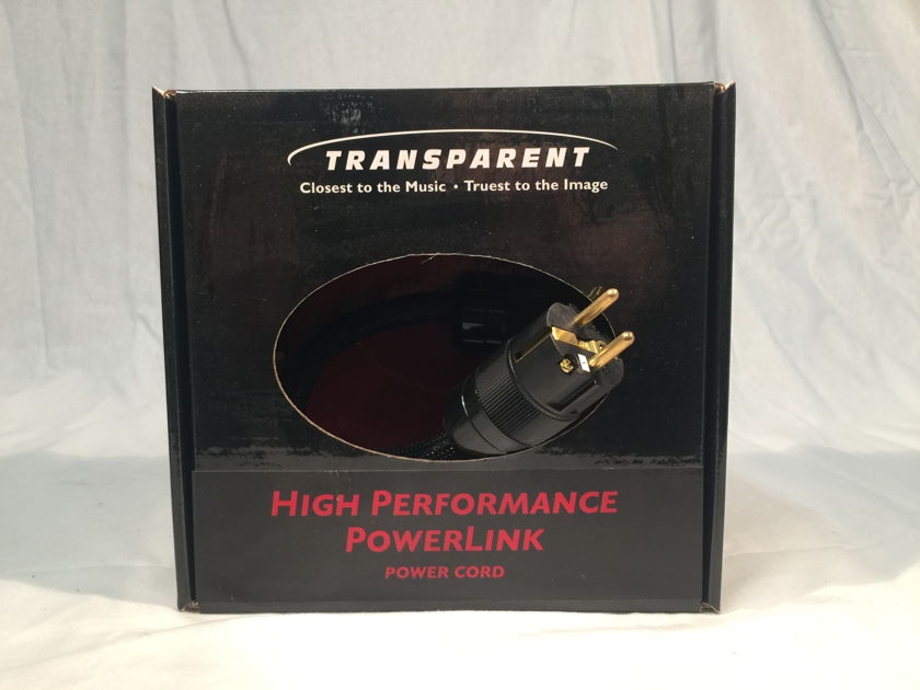 Transparent Audio High Performance Powerlink Powercord 2meter EURO HPPL2
