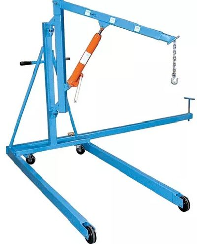 rotating floor crane, grue à plancher rotative, Muscle Mate