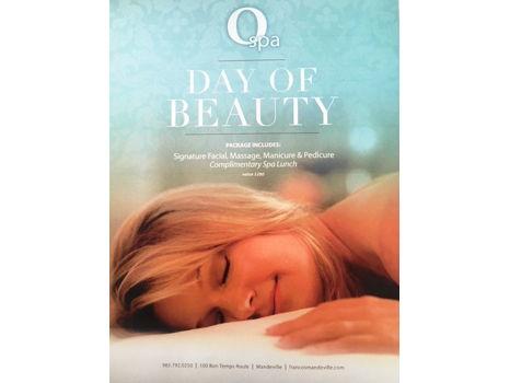 """Franco's O Spa """"Day of Beauty"""""""
