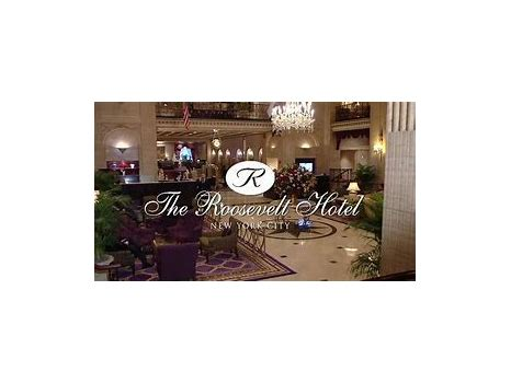 Two Night Weekend Stay at The Roosevelt Hotel