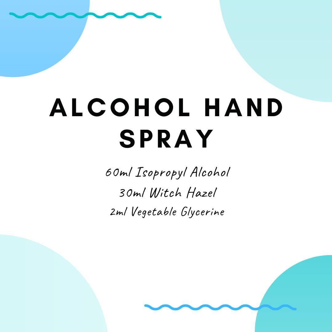 hand sanitiser recipe