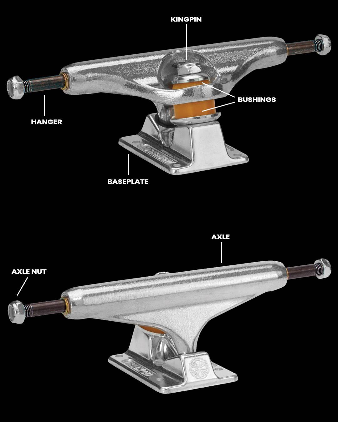 Guida skateboard - Come scegliere i truck da skateboard
