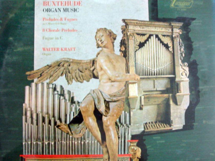 ★Sealed★ Vox Turnabout /  - KRAFT, Buxtehude Organ Music!