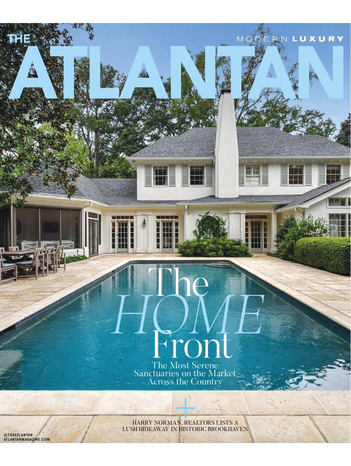 Modern Luxury The Atlantan February 2021 Issue Featuring Adelina Social Goods and The Works