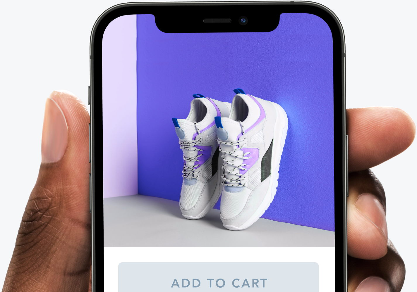 Fully optimized product image delivery to a smartphone