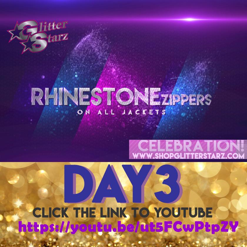 glitterstarz 10th anniversary celebration rhinestone zippers