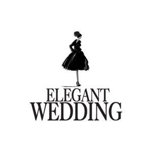 Logo Elegant wedding