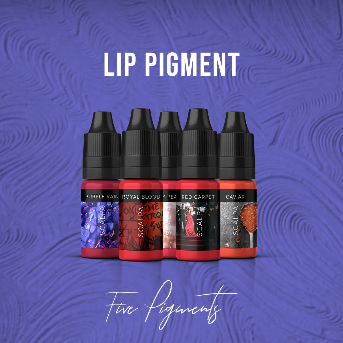 permanent makeup lip pigment