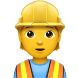 Construction worker 1f477