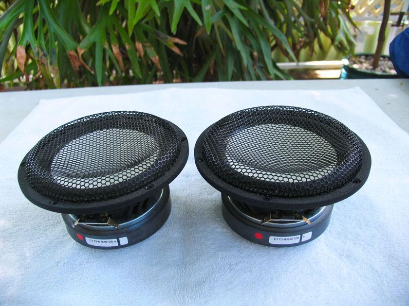 Accuton C 173 6 Ceramic mid/bass speakers