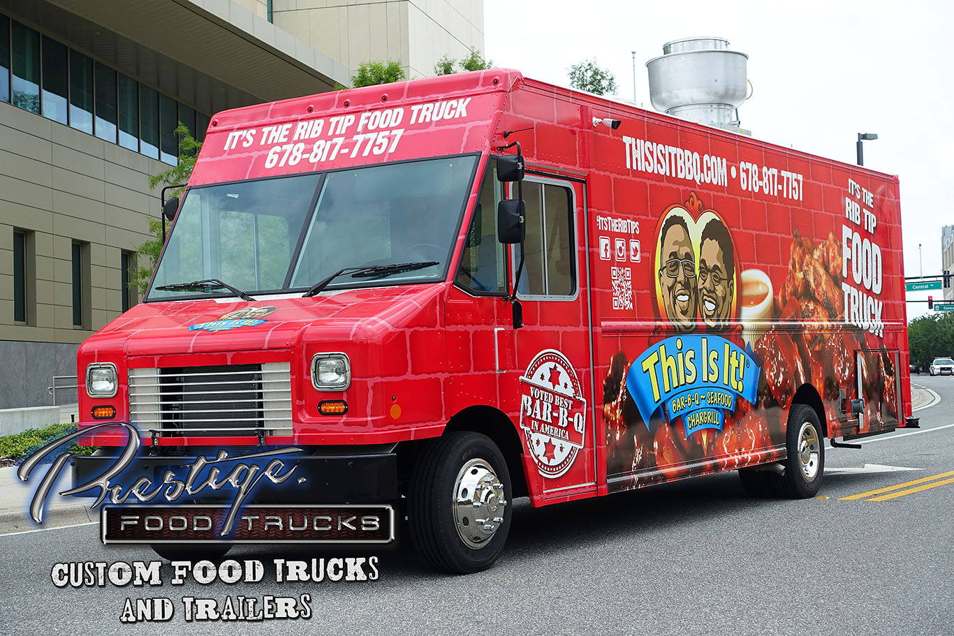 Prestige custom food truck
