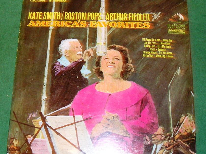 Kate Smith Boston Pops Arthur Fiedler - America's Favorites  ***SEALED***