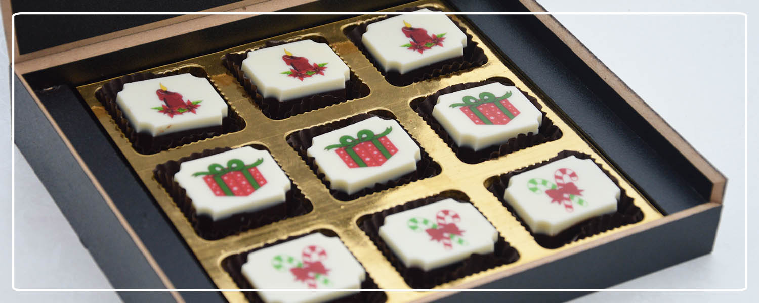 Chocolates for Christmas. Corporate Gift Ideas