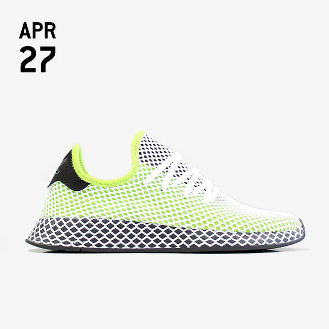 adidas Adidas Deerupt Runner Semi Solar Slime/Core Black/Core Black rVsT7CJ