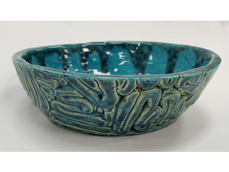 Tranquil Teal Bowl