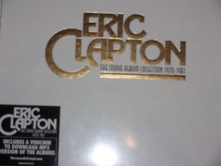 Eric Clapton - he Studio Album Collection 1970-1981 9 LP Box Set