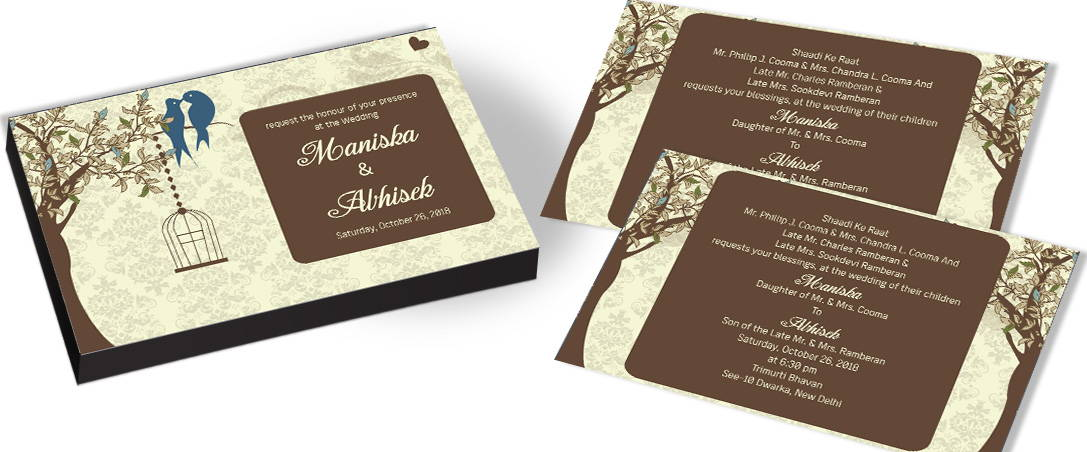 Themed Wedding Invitation