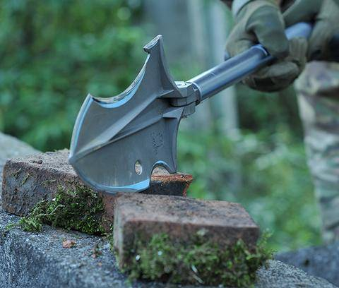 Zune Lotoo Smilodon Survival Shovel, Survival Shovel, Smilodon Survival Shovel, Camping Shovel, Zune Lotoo, Smilodon Camper Survival Shovel By Zune Lotoo