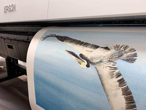 Superior ten color printing technology