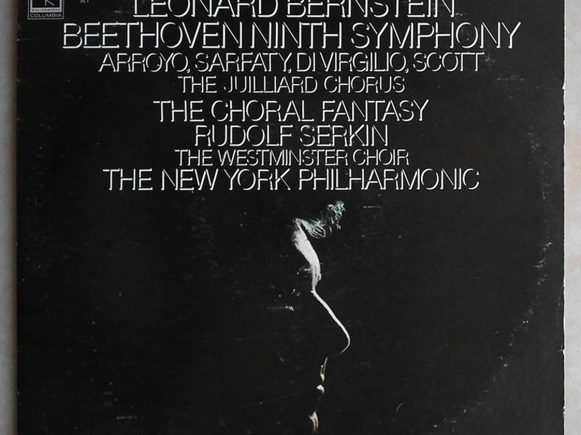 COLUMBIA   BERNSTEIN/BEETHOVEN - Symphony No. 9, Choral Fantasy / NM