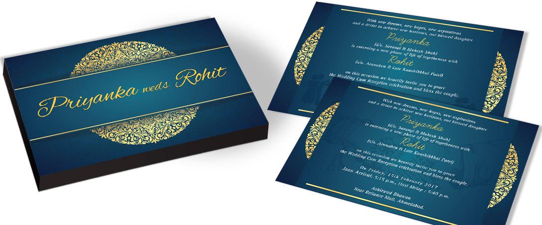 Customised Wedding Invitation Card