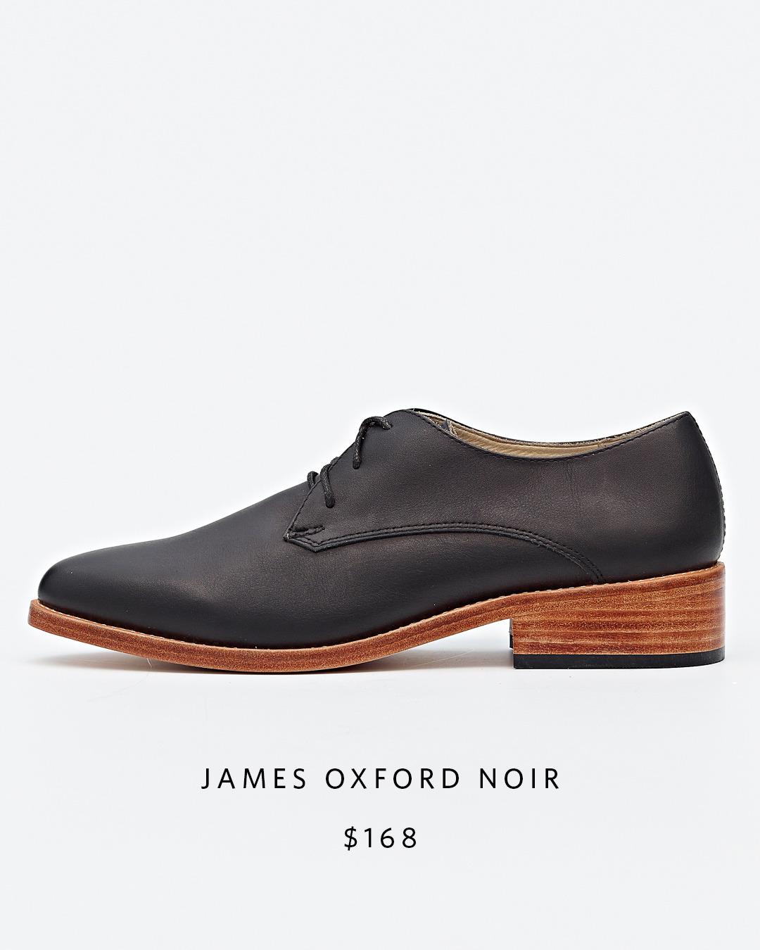James Oxford Noir   Nisolo