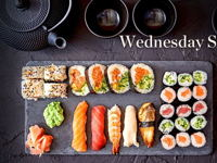 WEDNESDAY SUSHI BUFFET DINNER image