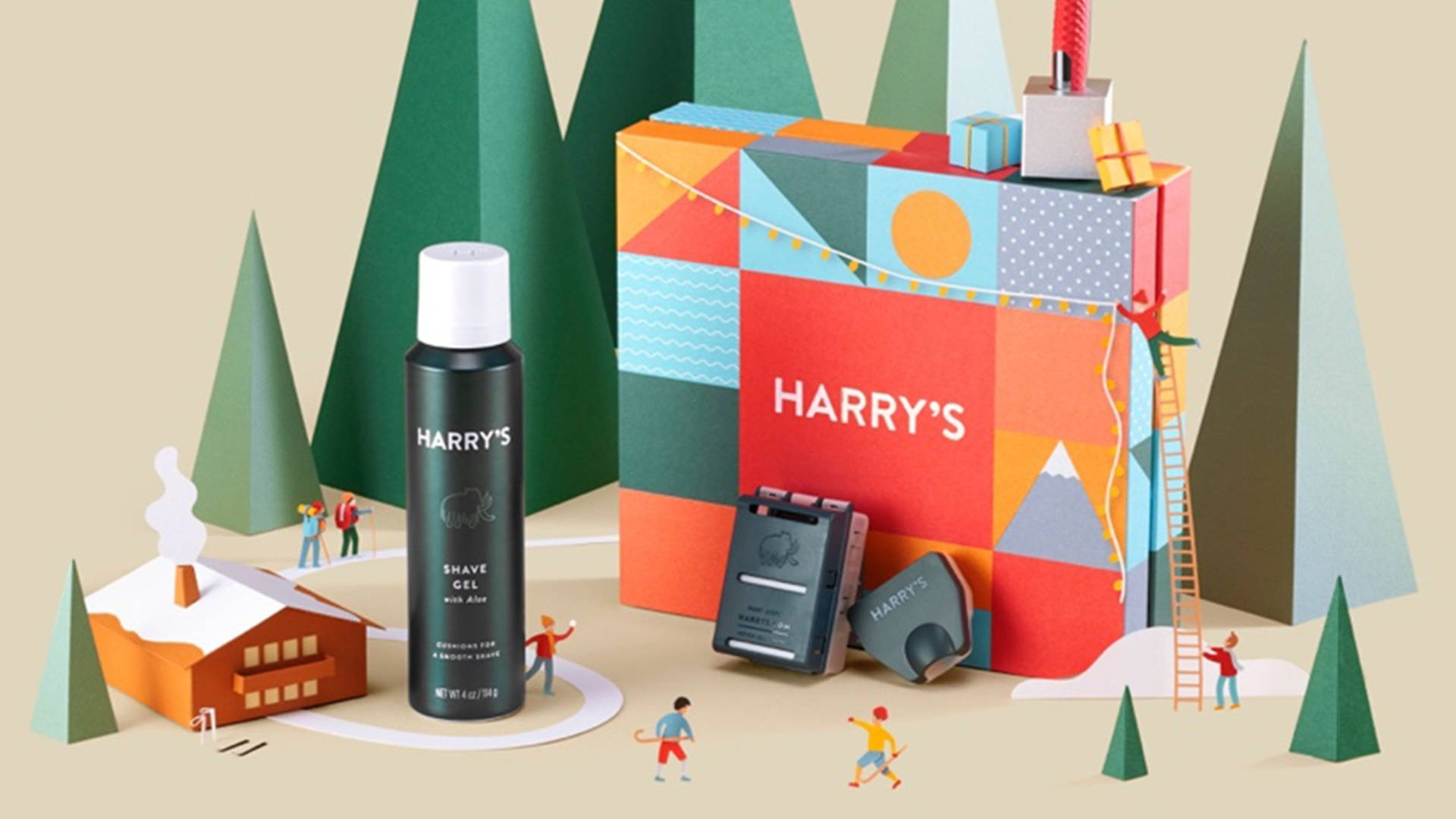 Harry S Shaving Holiday Gift Sets Feature Colorful And Non Denominational Packaging Ready To Gift Dieline Design Branding Packaging Inspiration