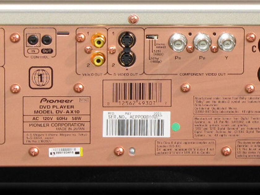 Pioneer  DV-AX10 NIB! SACD DVD-A CD DVD Player Complete, WOW!!