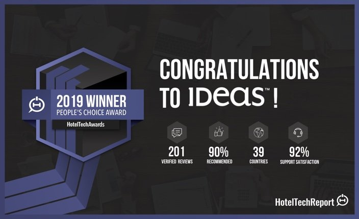 IDeaS Wins Coveted Global People's Choice Award in the 2019