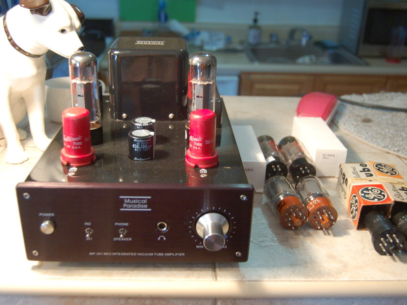 Musical Paradise MP-301 MKIII extra tubes